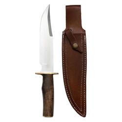 Bowie mes voor de jacht notenhout