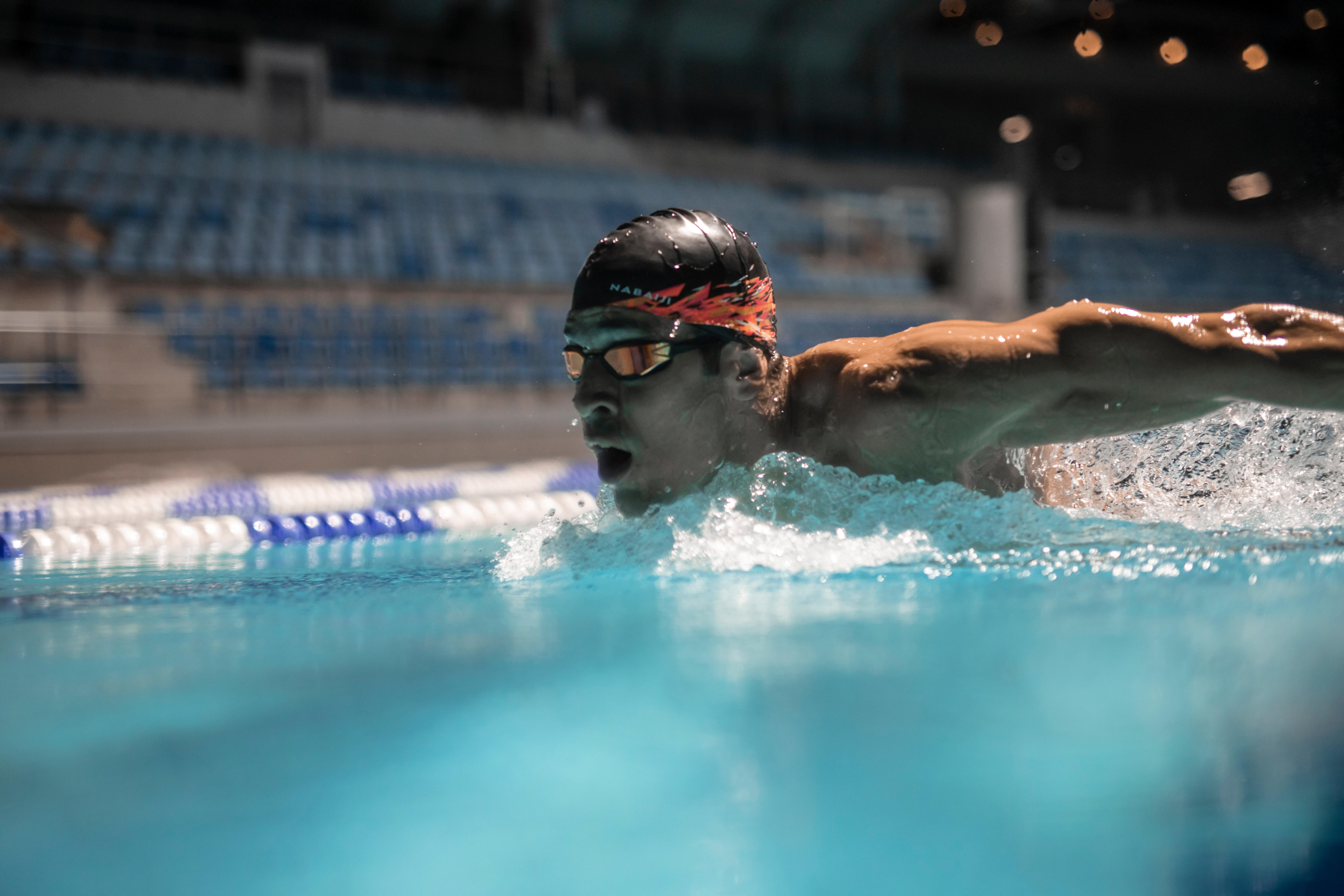 yüzme antrenmanı