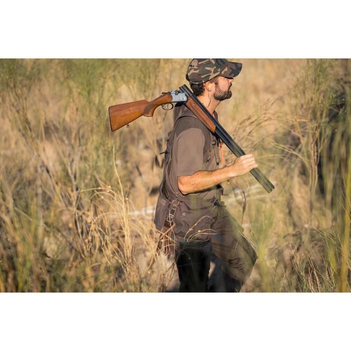 Gilet chasse 900 marron