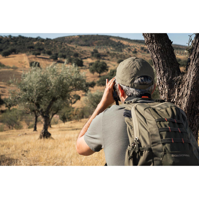 T-SHIRT CHASSE MANCHES COURTES 500 VERT