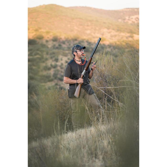 Jagdweste 520 leicht atmungsaktiv braun