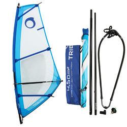 Windsurf tuigage 4,5 m² voor volwassenen - 177749