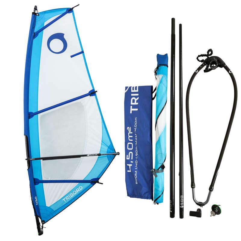 WINDSURF Kitesurfing and windsurfing - Adult Rig 4.5 m² TAMAHOO - Kitesurfing and windsurfing