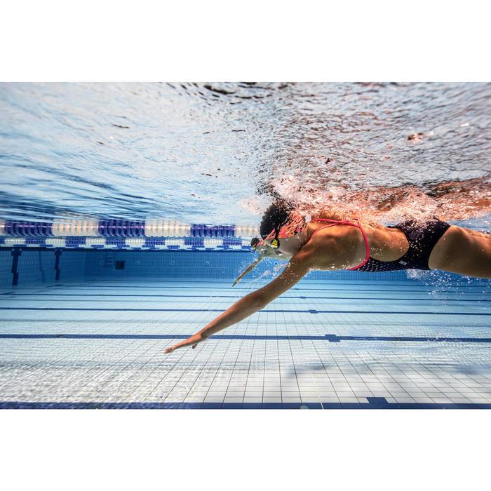 Maillot de bain de natation une pièce fille résistant chlore Lexa gani rose