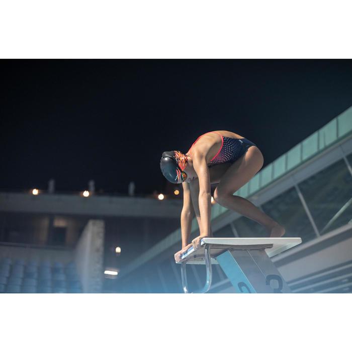 B-FAST泳鏡900 - 黑紅色鏡面鏡片