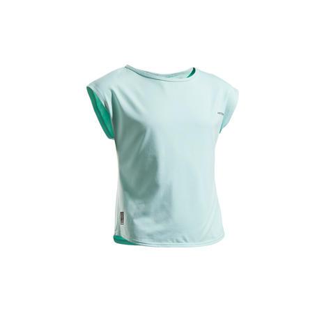 Girls' T-Shirt 500 - Turquoise