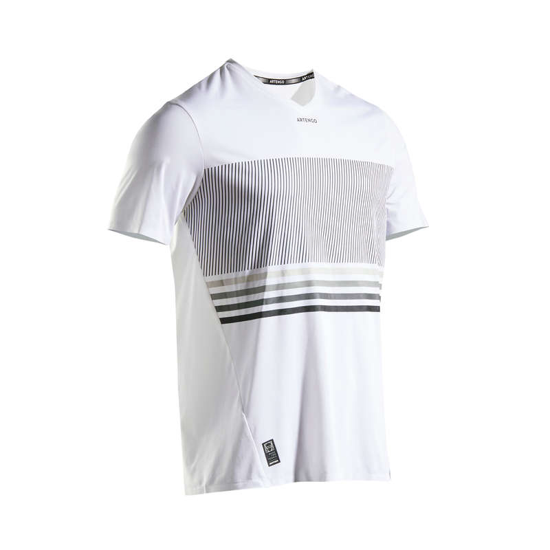 Tunna tenniskläder som andas, herr Racketsport - T-shirt TTS 900 LIGHT herr ARTENGO - Padelkläder