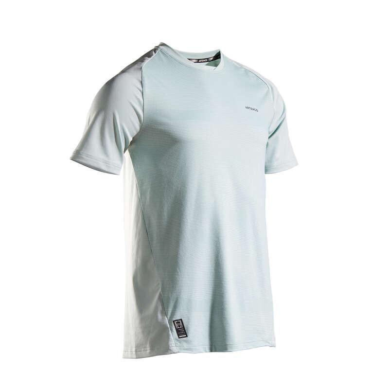 FÉRFI TENISZ RUHÁZAT MINDEN IDŐRE Squash, padel - Férfi teniszpóló TTS 500 Dry ARTENGO - Squash ruházat