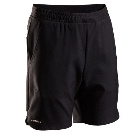 Kids' Tennis Shorts TSH500 - Black
