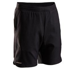 兒童款網球短褲TSH500 - 黑色