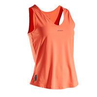 Women's Tennis Tank Top TK Dry 100 - Coral