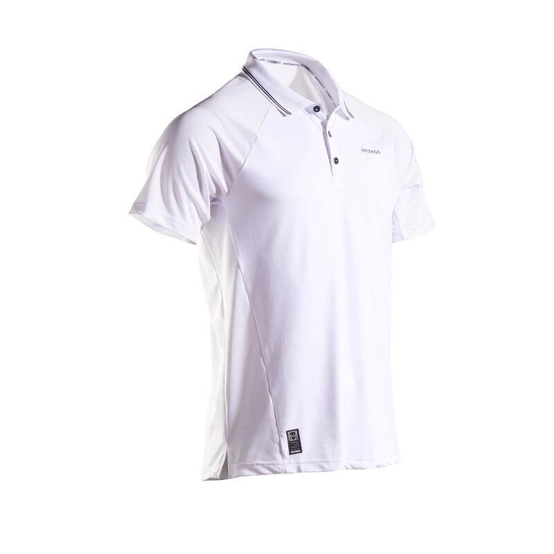 Men's Tennis Polo Shirt TPO 500 Dry - White