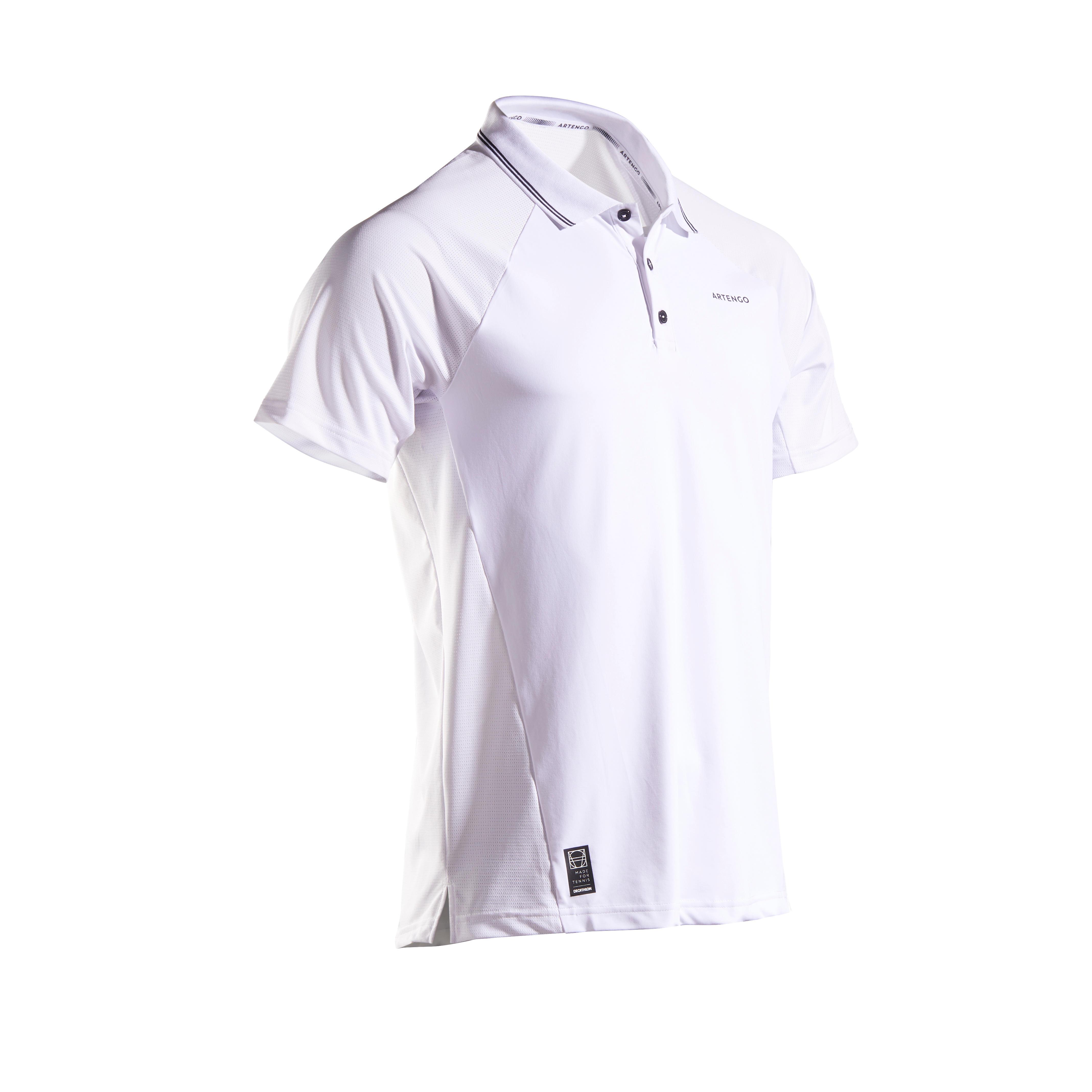Tricou Polo Tenis TPO 500 DRY imagine