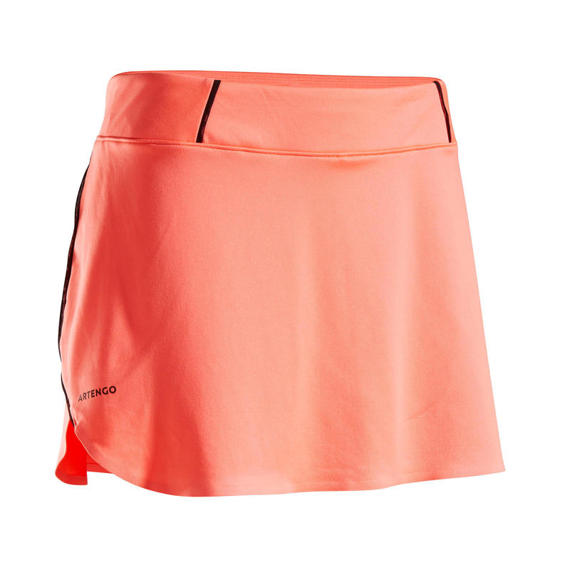 Women's Tennis Skirt SK Dry 900 - Coral