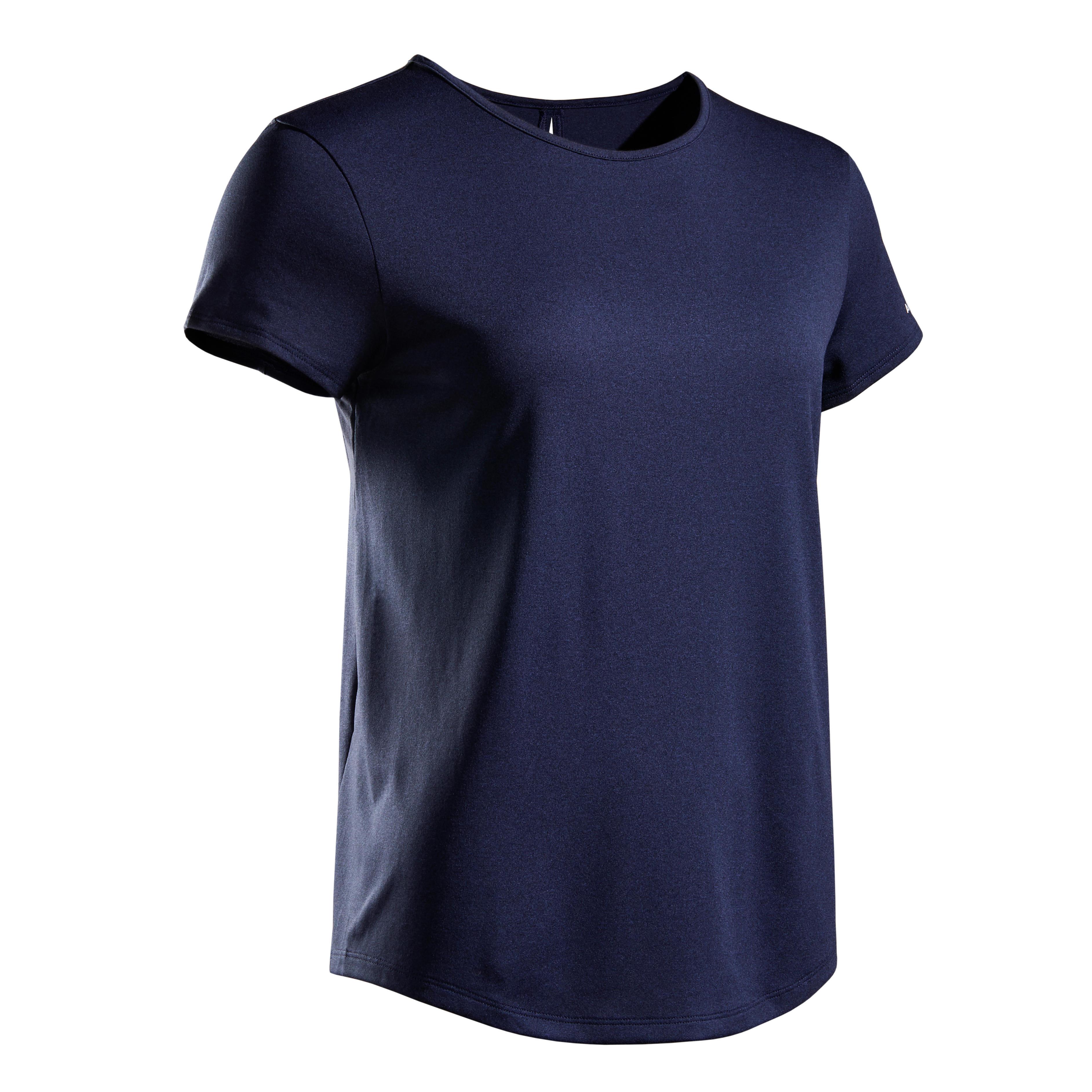 Tennisshirt DRY 100 Damen | Sportbekleidung > Sportshirts | Artengo