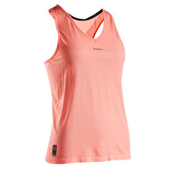 Women's Tennis Tank Top TK Light 990 - Coral