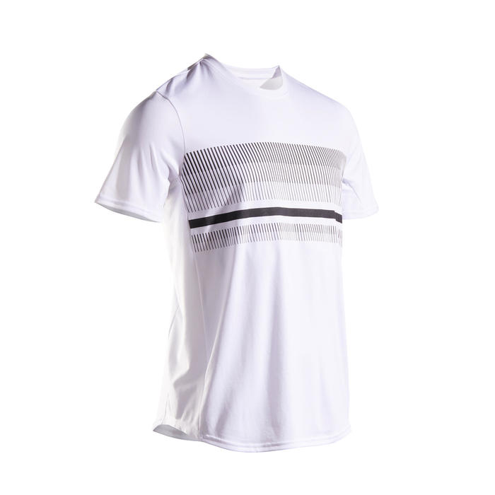 Tennisshirt voor heren TTS100 wit