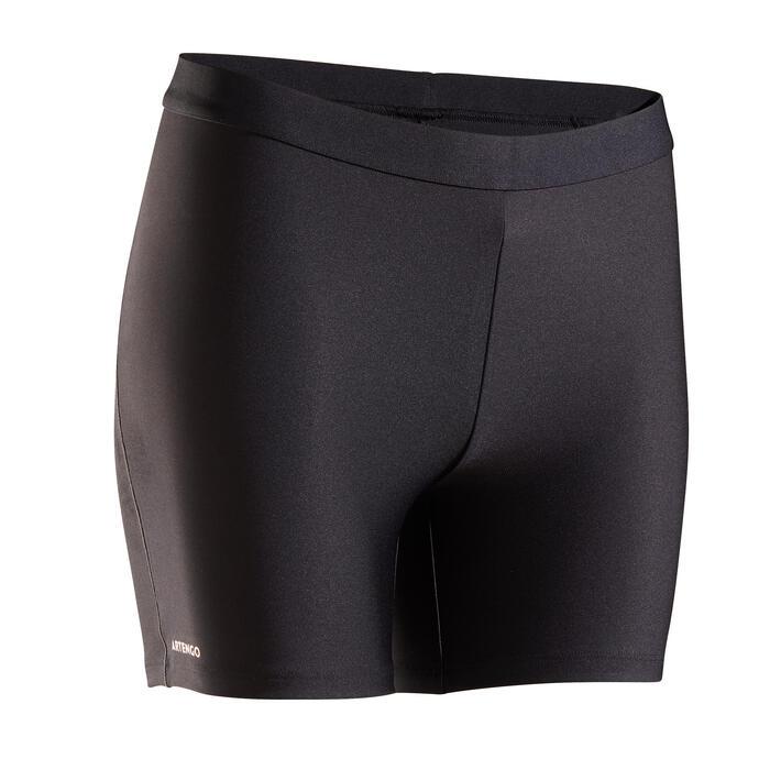 Tennisshorty voor dames Box 900 zwart