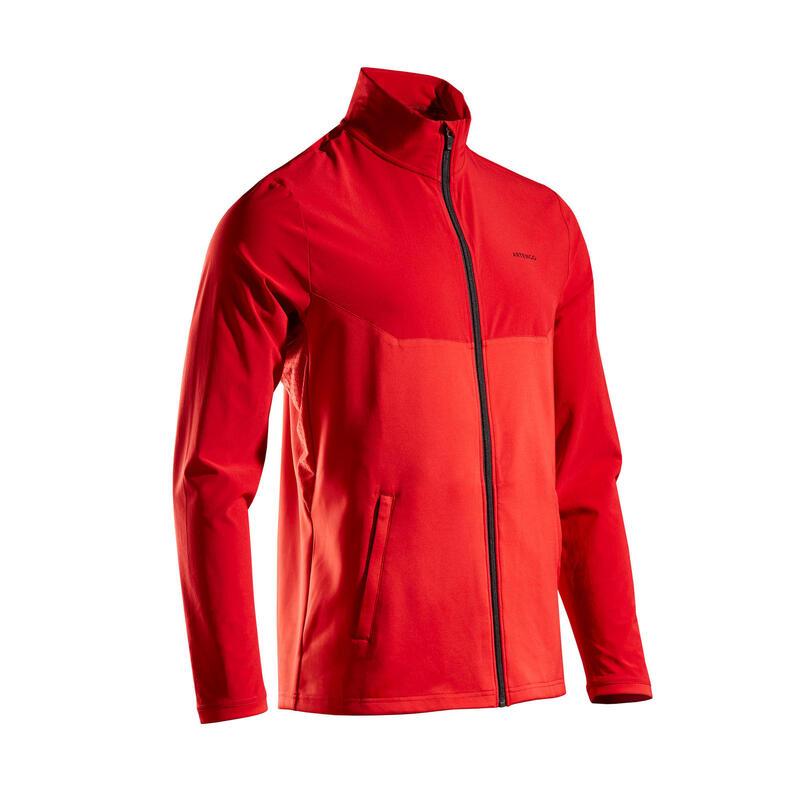Tennis trainingsjack voor heren TJA 500 rood