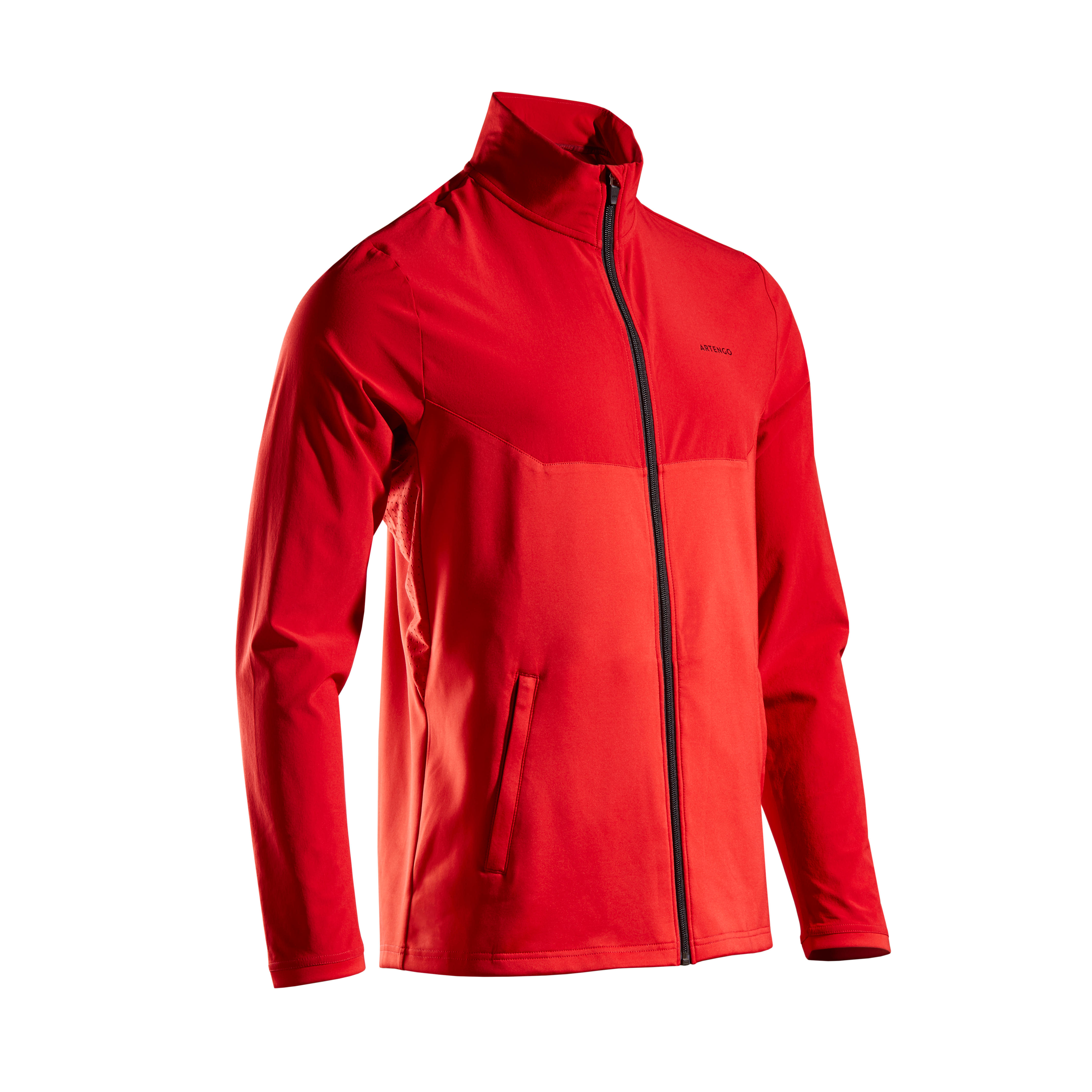 Jachetă Tenis TJA500 Bărbați imagine