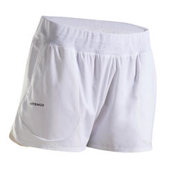 Women's Tennis Shorts SH Dry 500 - White