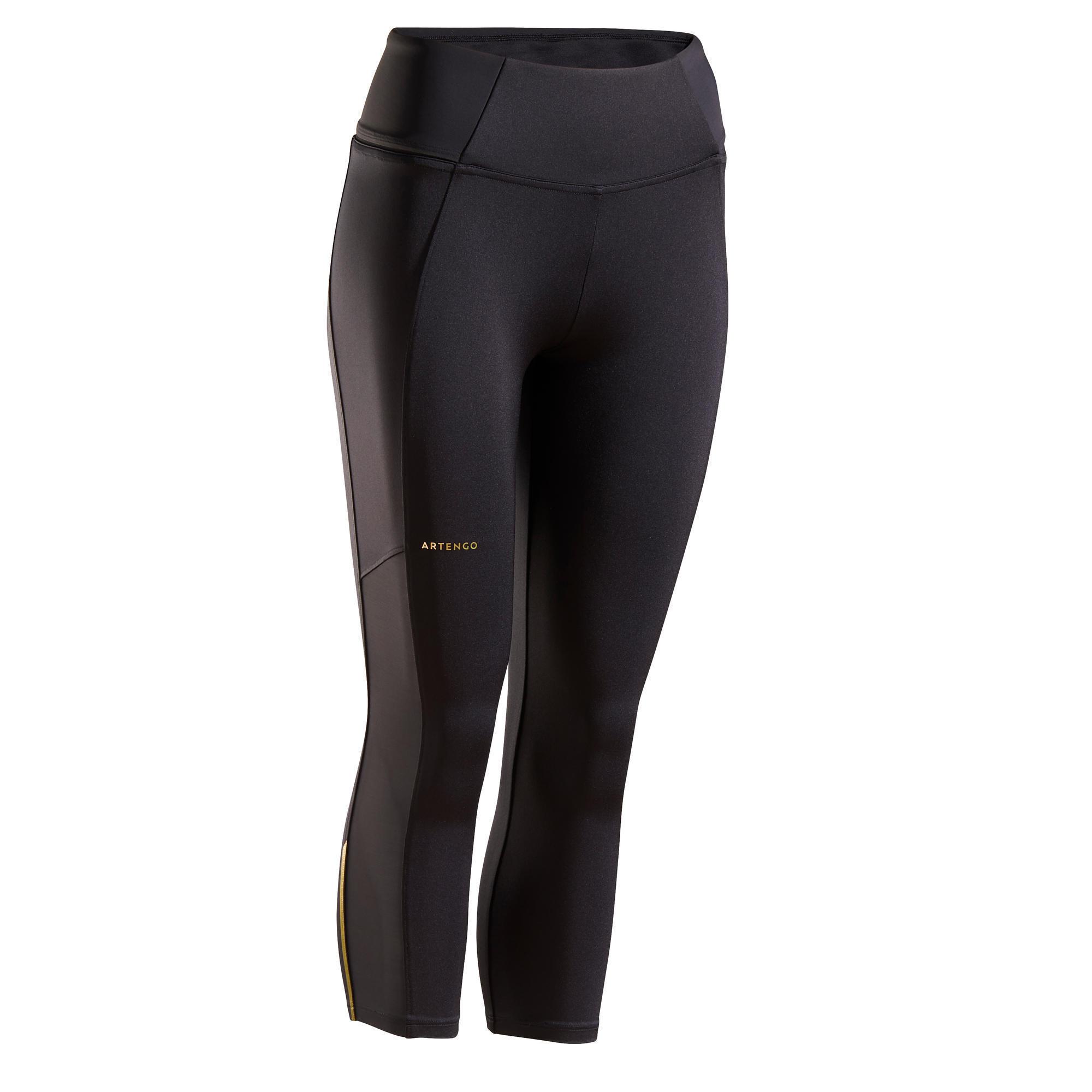 Tennishose 3/4-Hose Dry 900 Damen | Sportbekleidung > Sporthosen > Tennisshorts | Artengo
