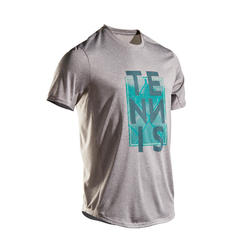 Men's Tennis T-Shirt TTS100 - Grey