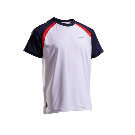 500 T-shirt Anak - Putih/Biru Navy