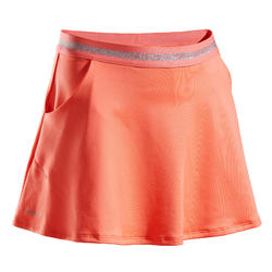 Girls' Tennis Skirt TSK500 - Coral