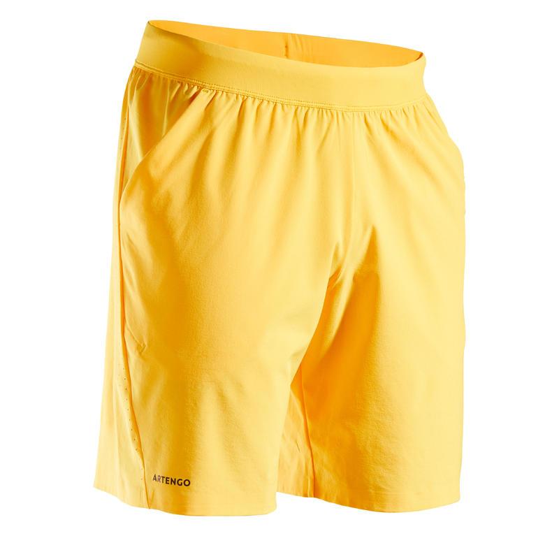 Celana Pendek Tenis Pria TSH 900 Light - Kuning