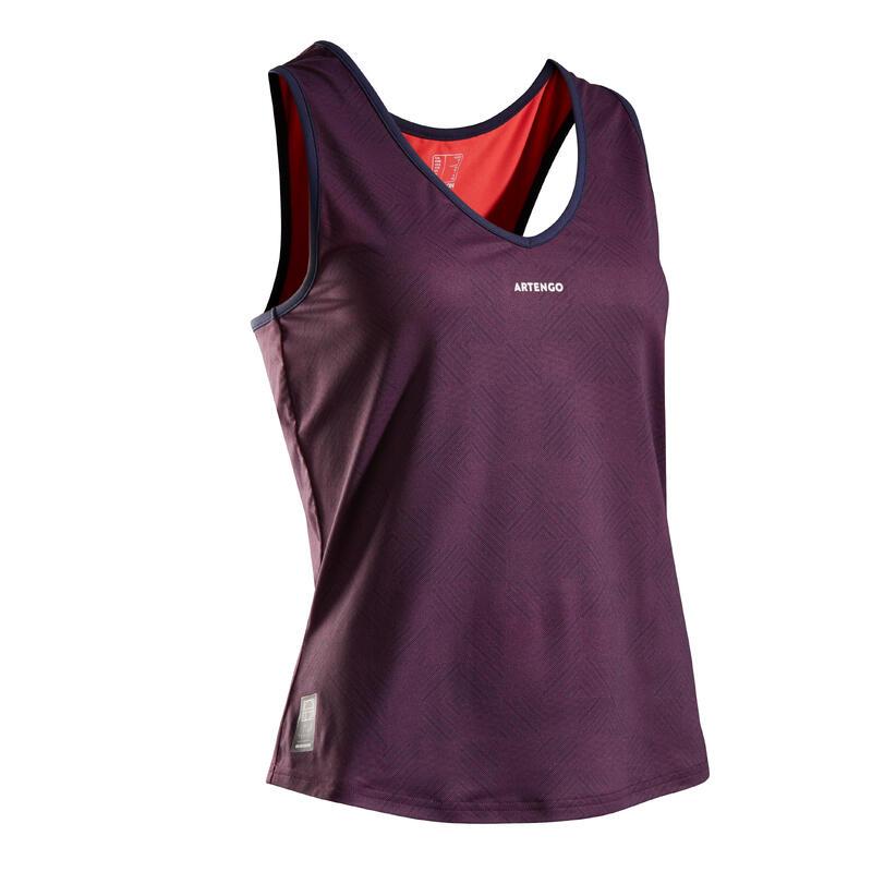 Women's Tennis Tank Top TK Dry 100 - Navy / Pink