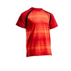 兒童款T恤500-紅色