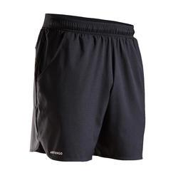 Tennis-Shorts Dry Court 500 Herren schwarz