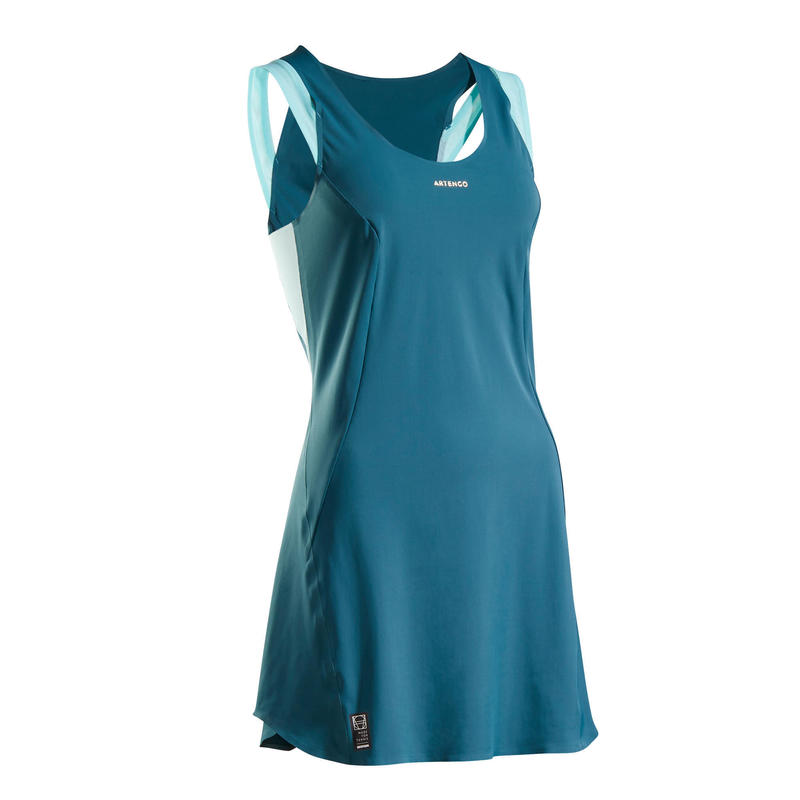 Women's Tennis Dress DR Light 990 - Turquoise