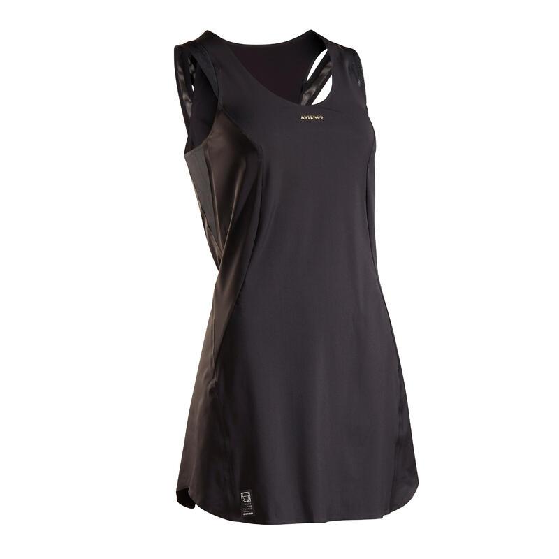 Vestido de Tenis Artengo DR LIGHT 900 Mujer Negro