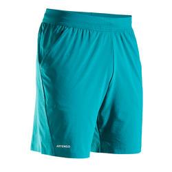 男款輕量網球短褲TSH 900 - 綠色