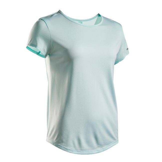 Women's Tennis T-Shirt TS Dry 100 - Light Green