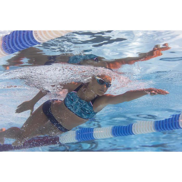 Bas de maillot de bain de natation fille Kamyleon Wave bleu