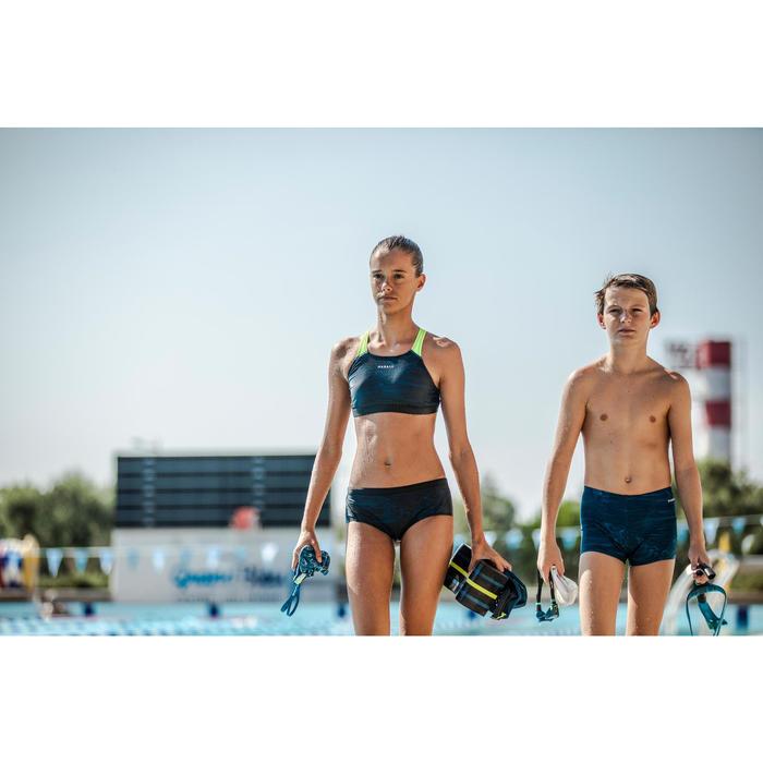 Bas de maillot de bain de natation fille Kamyleon Sea noir