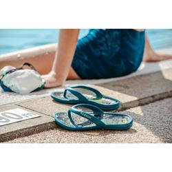 Teenslippers voor zwemsport kinderen Tonga 500 Citym blauw
