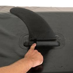 NO TOOLS REQUIRED STAND UP PADDLE BOARD OR INFLATABLE KAYAK FIN SIZE L BLACK