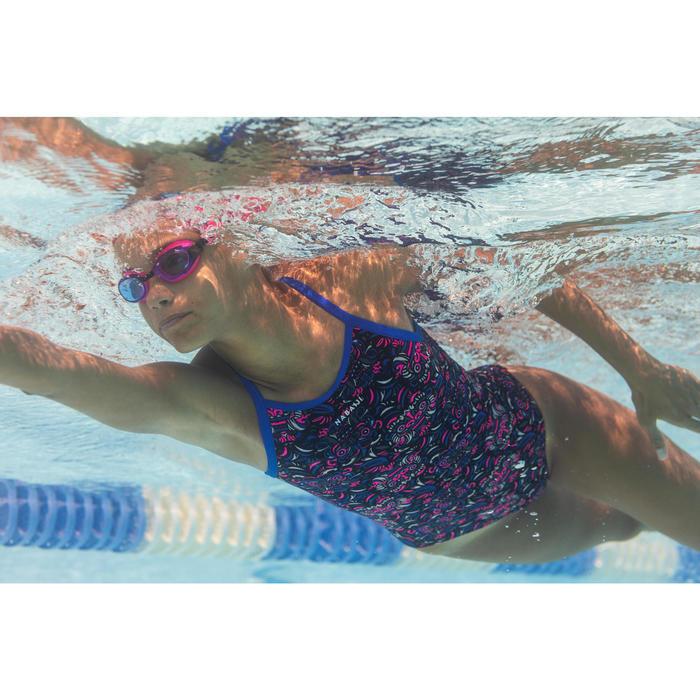 Sportbadpak meisjes chloorbestendig Jade All Mask