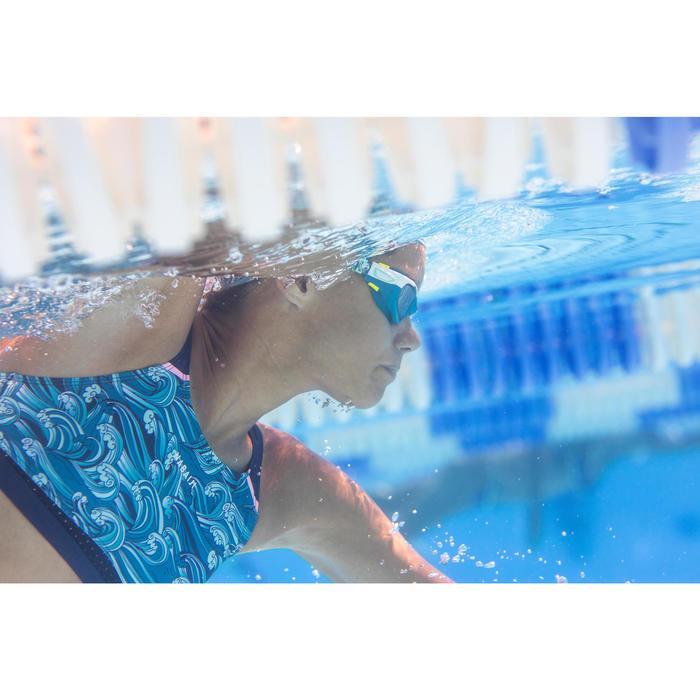 Bikinitop voor zwemmen meisjes chloorbestendig Kamyleon Wave