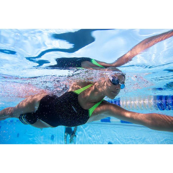 Maillot de bain de natation une pièce fille résistant au chlore Kamyleon Task