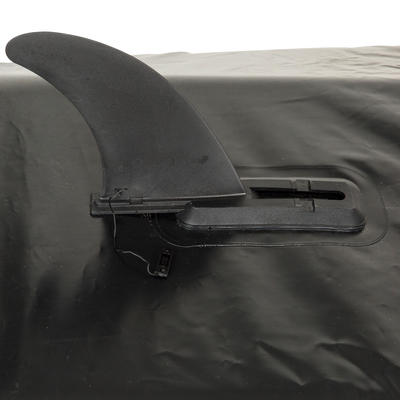 زعنفة قارب- أسود