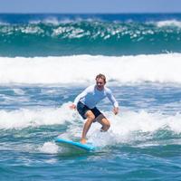 tee-shirt anti-UV surf haut 100 manches longues homme blanc