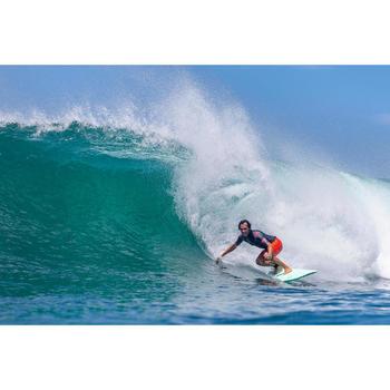 Surf boardshort standard 900 Océan light fluo