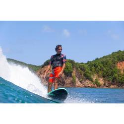Foam surfboard 7' 900. Inclusief 3 vinnen