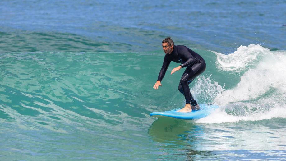 le surf est un sport physique complet