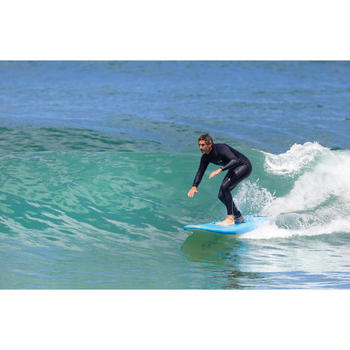 "FOAM SURFBOARD 100 8'2"" supplied with a leash and 3 fins."